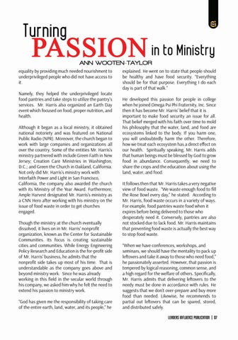 Page 7 of Garry Harris -Turning Passion in to Ministry, by Ann Wooten Taylor