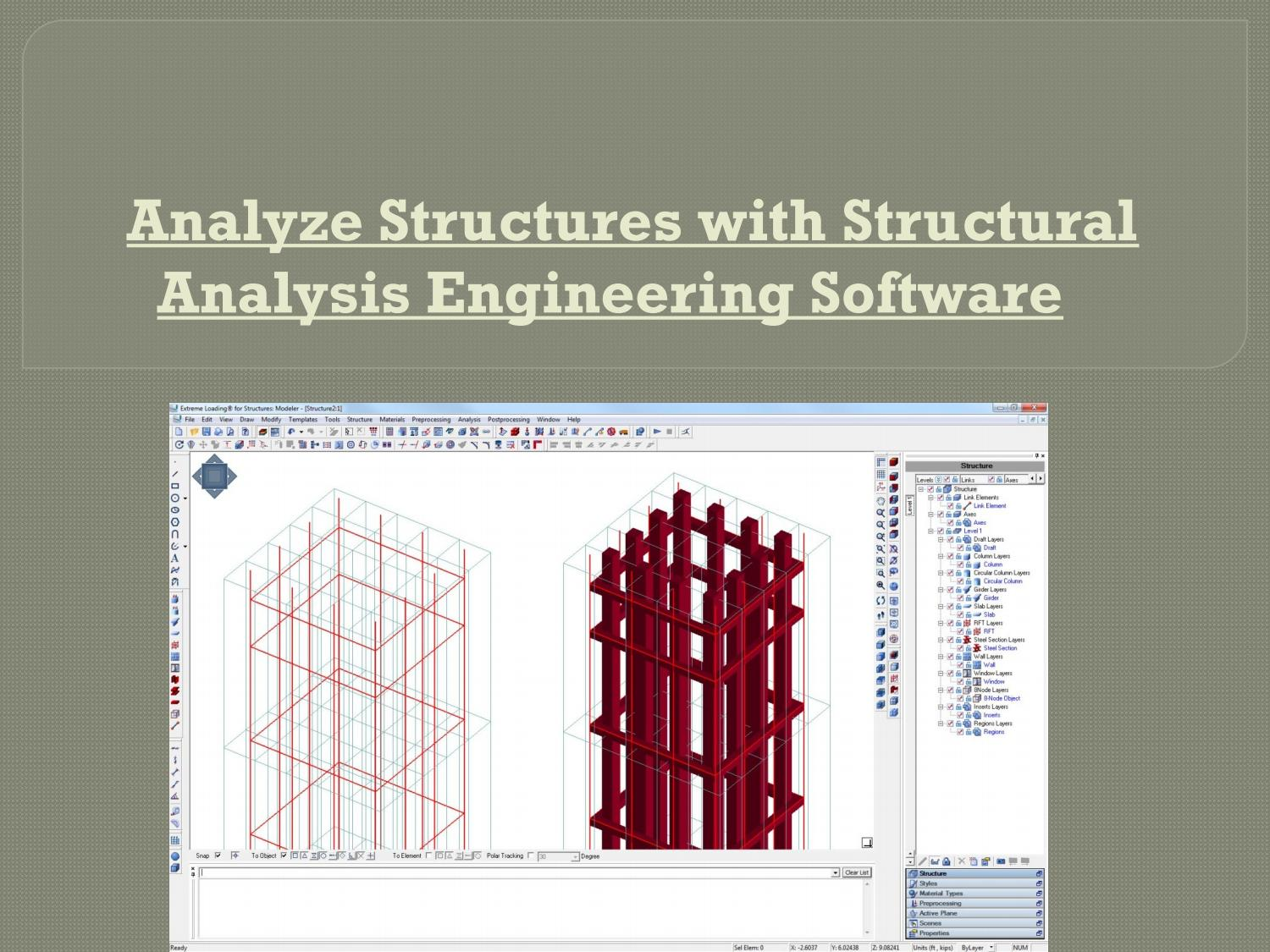Analyze Structures With Structural Analysis Engineering Software By Siana Luis Issuu
