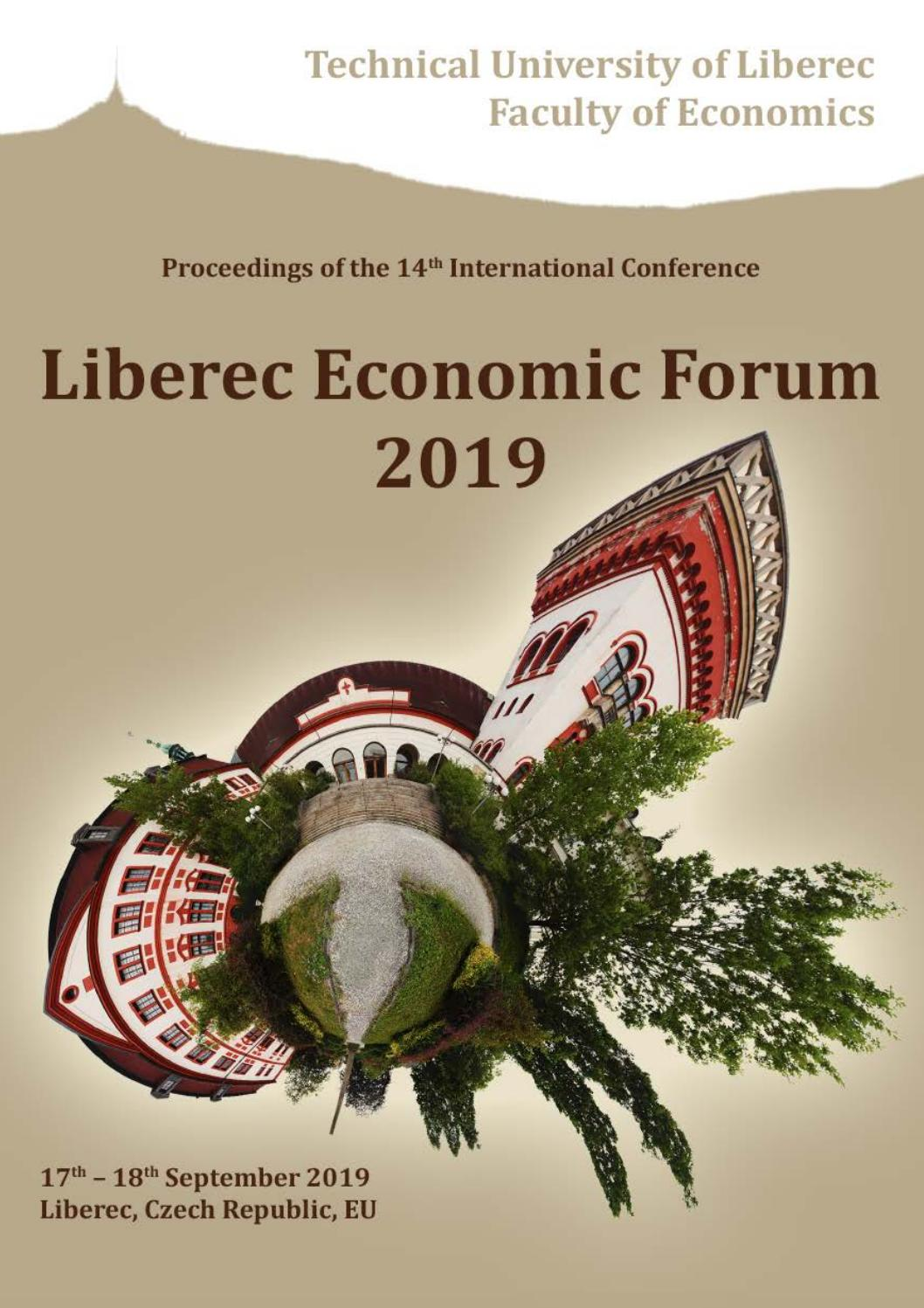 Proceedings from Liberec Economic Forum 40 by ...