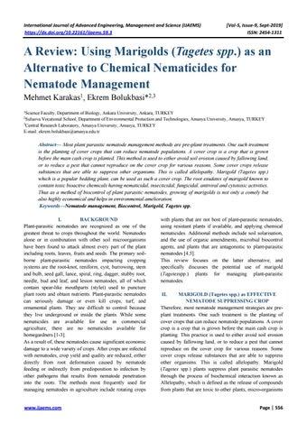 Plant Parasitic Nematodes Anatomy Taxonomy and Ecology Volume I: Morphology