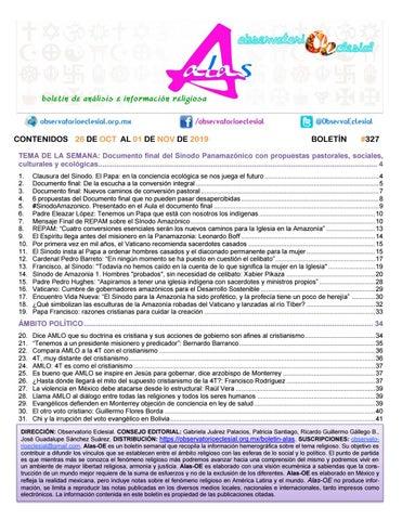 Boletín Alas Oe 327 By Boletín Alas Oe Issuu