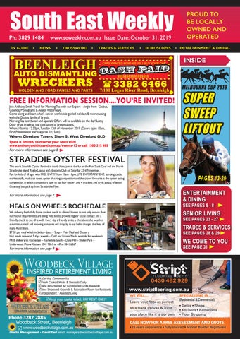 South East Weekly October 31st 2019 By South East Weekly
