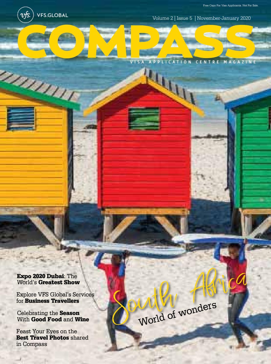 Vfs Global Compass Uae Edition November 2019 January 2020 By Maxposure Media Group India Pvt Ltd Issuu