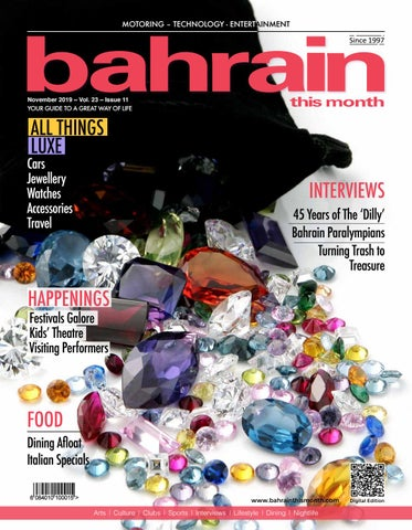 Bahrain This Month - November 2019 by Red House Marketing