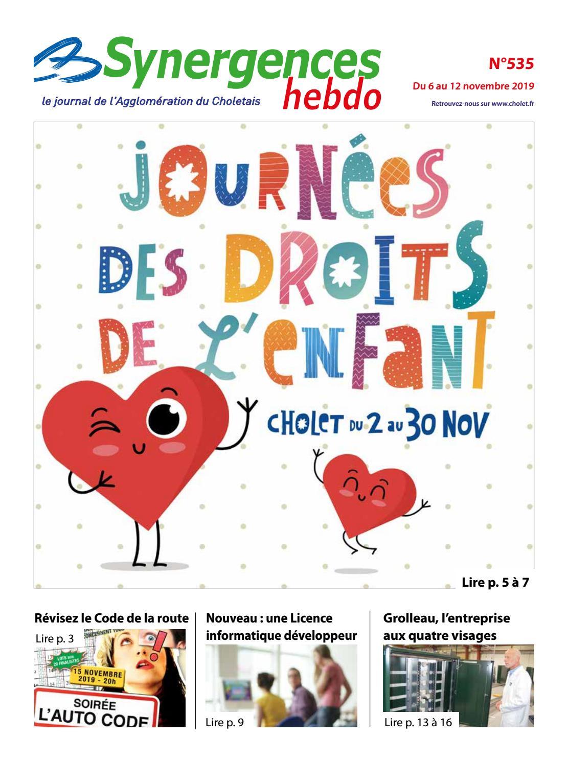 Maitre D Oeuvre Cholet synergences hebdo n°535agglomération du choletais - issuu