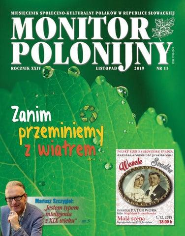 Monitor Polonijny 201911 By Monitor Polonijny Issuu