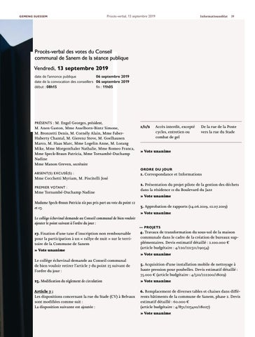Page 39 of Informatiounsblat