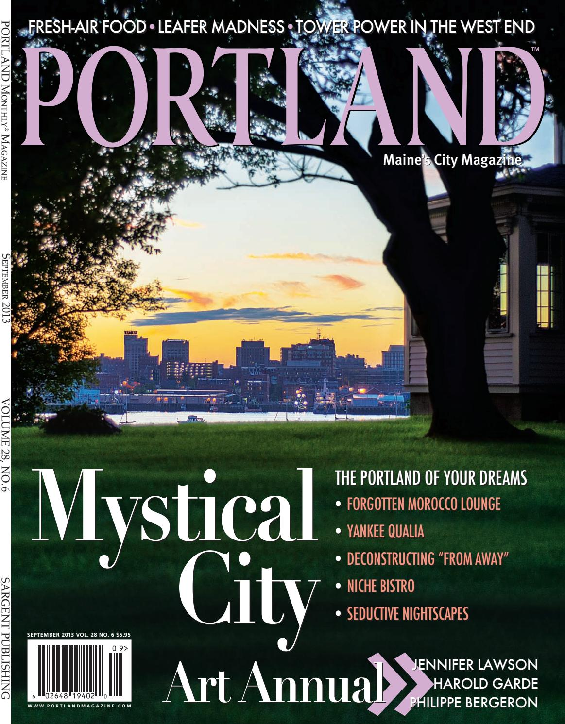 Portland Monthly Magazine September 2013 by