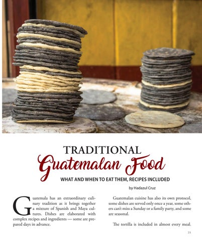 Page 21 of Traditional Guatemalan Food