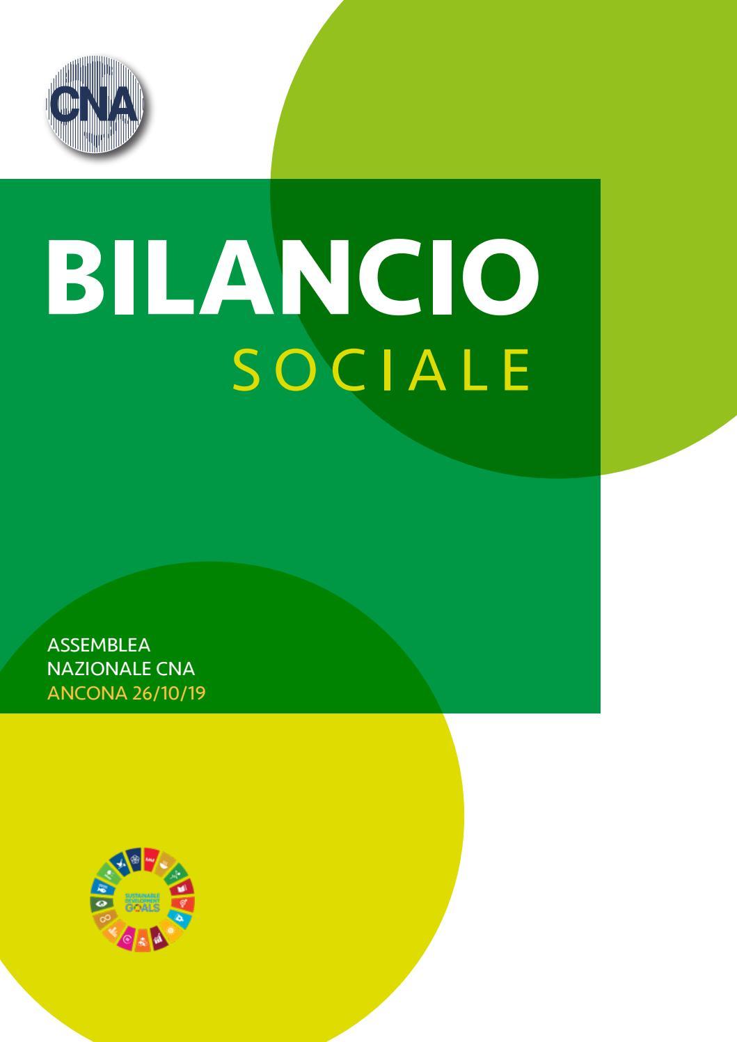 Bilancio Sociale 2018 By Cna Issuu