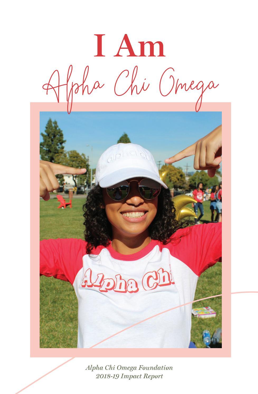 2018 19 Alpha Chi Omega Foundation Annual Report By Alpha Chi Omega Fraternity Inc Issuu