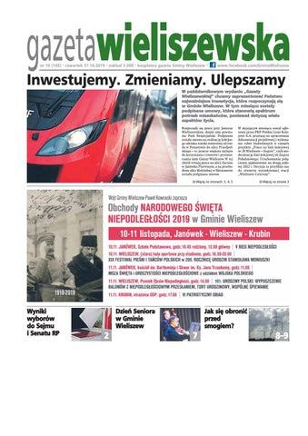 Gazeta Wieliszewska Nr 10 1452019 By Gmina Wieliszew Issuu