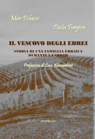 Frasi Matrimonio Talmud.Paola Fargion Meir Polacco Il Vescovo Degli Ebrei By Puntoacapo