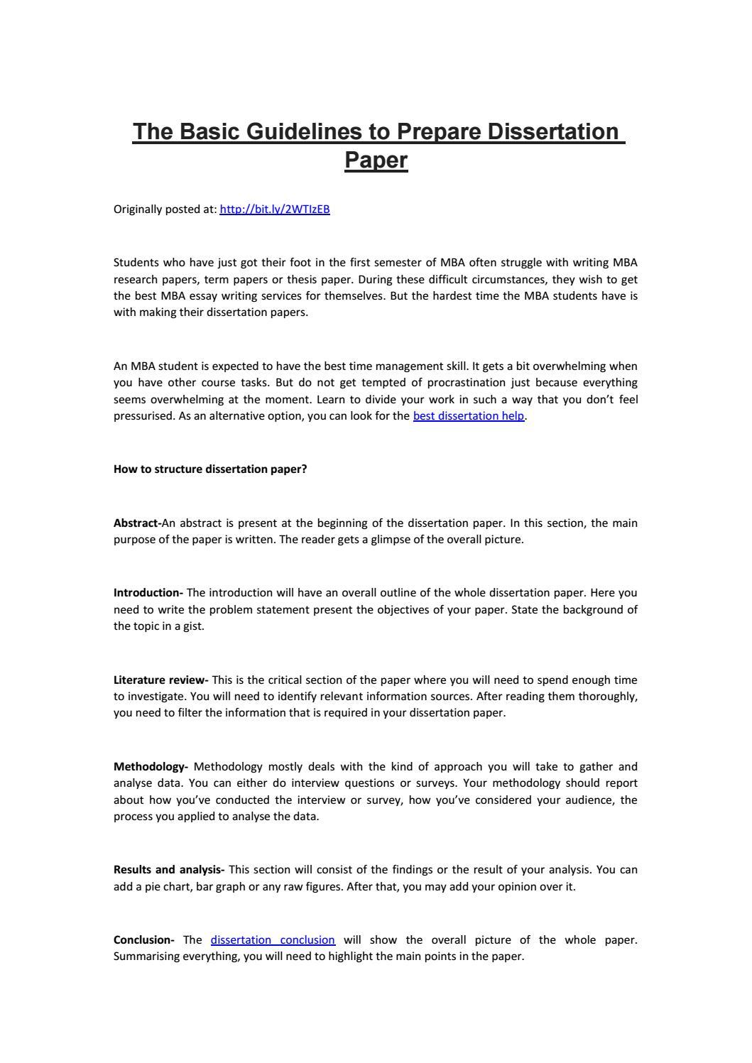 Dissertation paper uk dissertation help