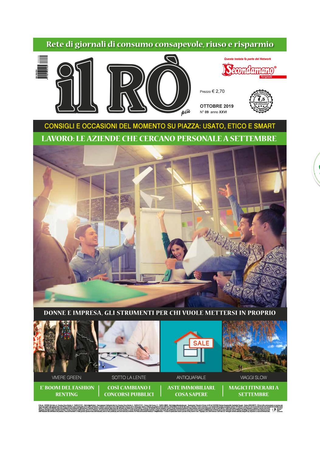 ILRO Ottobre 2019 by Edit Italia S.r.l. issuu