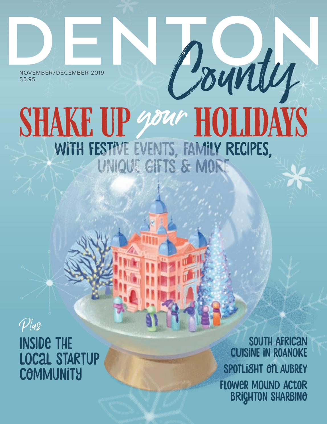 Denton County magazine November December 2019 by Larry McBride   issuu