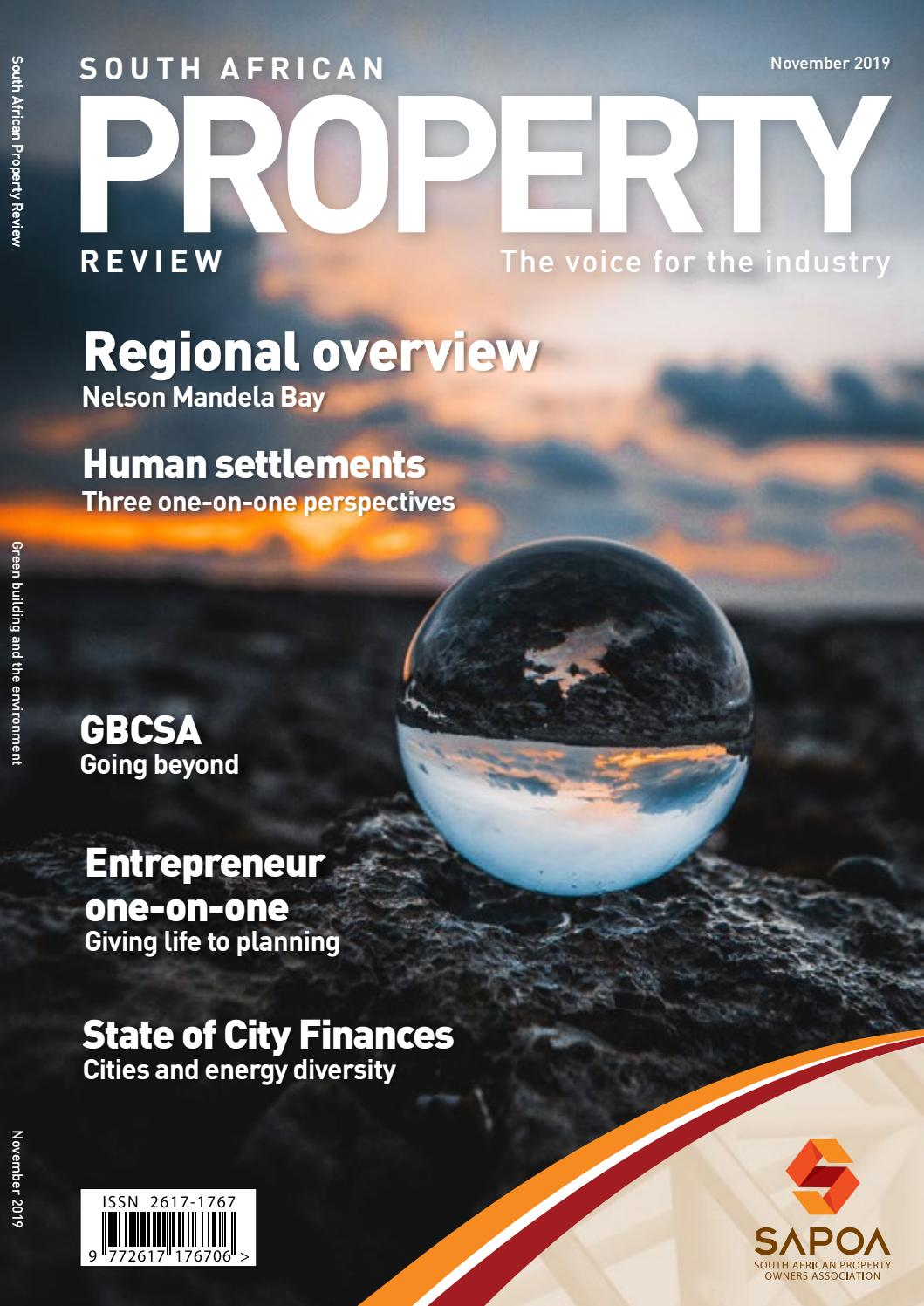 South African Property Review November 2019 By Sapoa Issuu