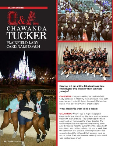 Page 22 of Q&A With Plainfield Lady Cardinals Coach Chawanda Tucker