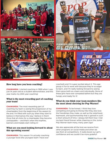 Page 23 of Q&A With Plainfield Lady Cardinals Coach Chawanda Tucker