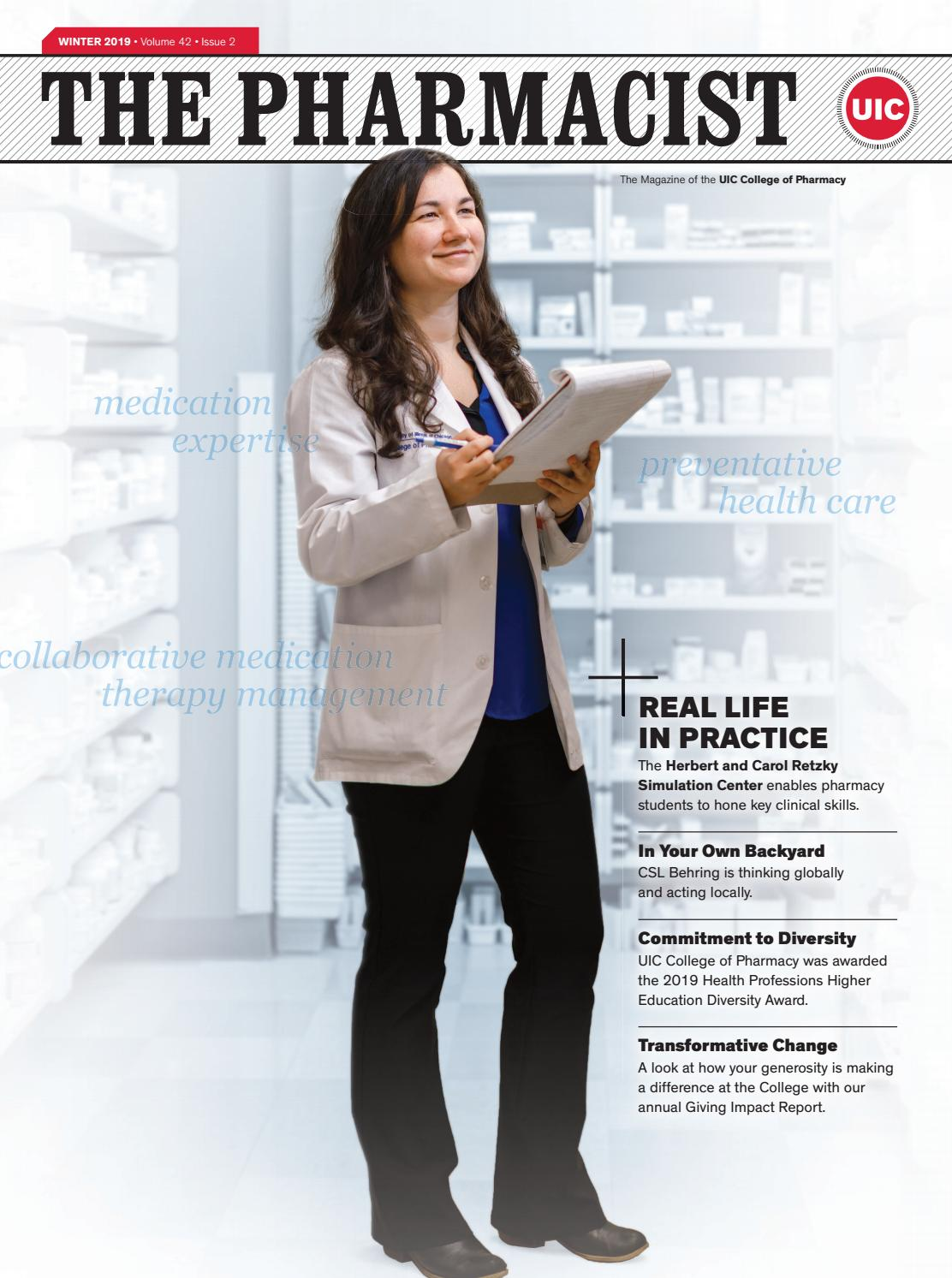 Uic Spring 2022 Calendar.The Pharmacist Winter 2020 By Uic College Of Pharmacy Issuu