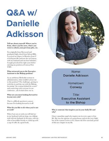 Page 11 of Q&A w/ Danielle Adkisson