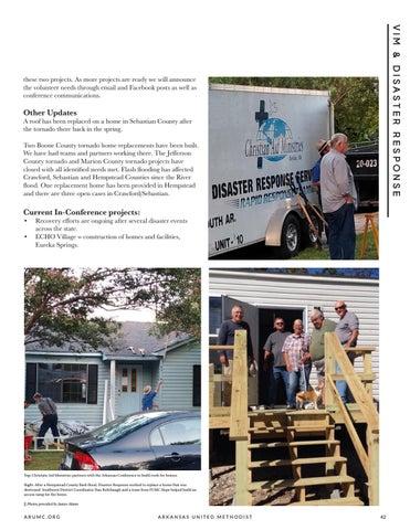 Page 43 of ARUMC, UMCOR Announce 2020 Disaster Response Academy