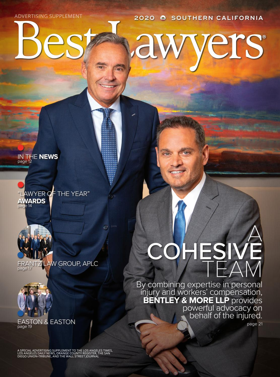 Best Lawyers In Southern California 2020 By Best Lawyers Issuu