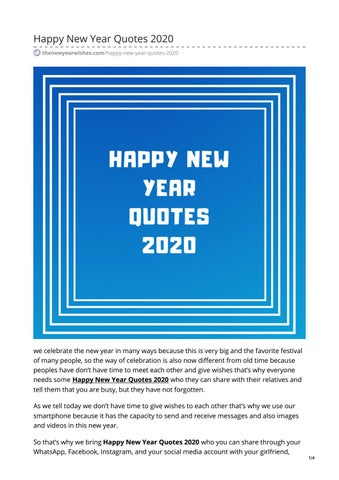 happy new year quotes by zeroauthor issuu