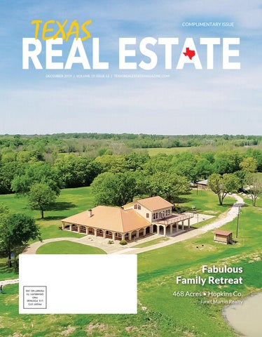 Texas Real Estate Magazine By Sales R Up Media Inc Issuu
