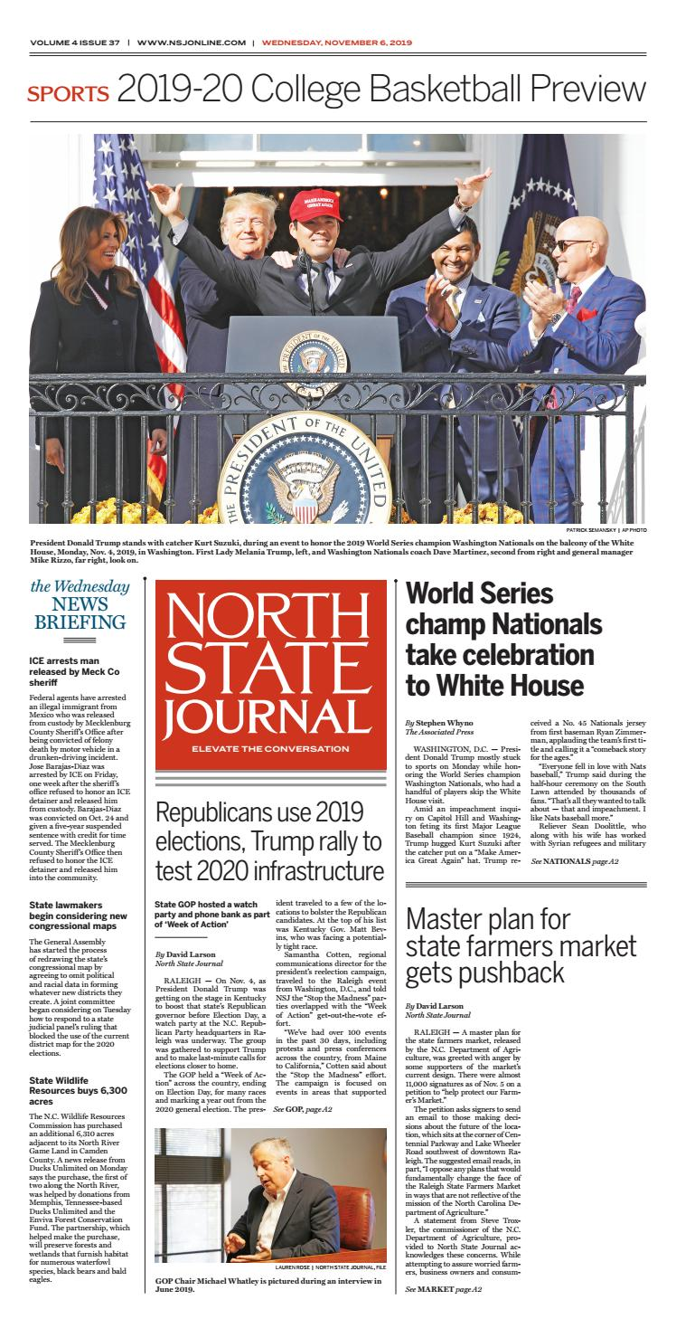 North State Journal Vol 4 Issue 37 By North State Journal Issuu