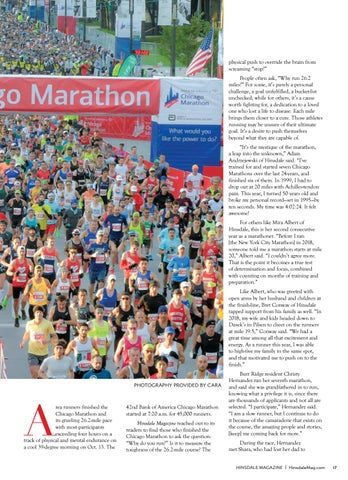 Page 17 of Chicago Marathon Why  They Run