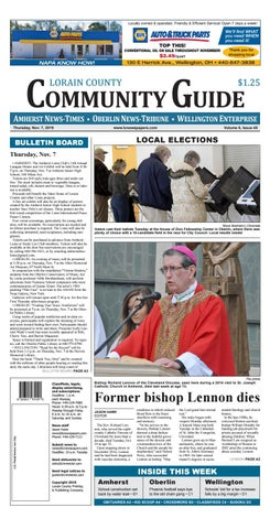 Lorain County Community Guide Nov 7 2019 By Lorain County Printing And Publishing Issuu