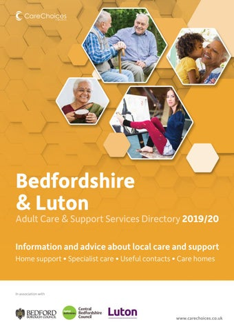 Bedfordshire Luton Adult Care And Support Services