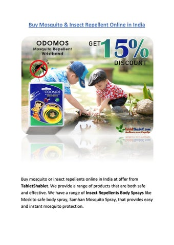 Buy Mosquito Insect Repellent Online In India By Preeti