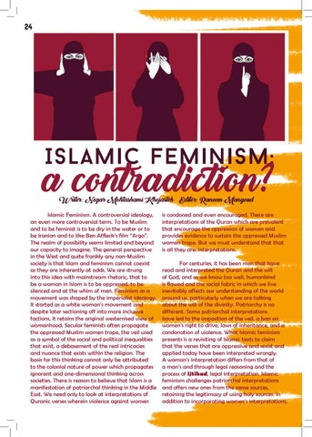 Page 24 of Islamic Feminism: A Contradiction