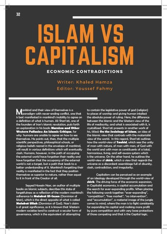 Page 32 of Islam vs Capitalism: Economic Contradictions