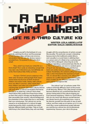 Page 50 of A Cultural Third Wheel: Life as a Third Culture Kid