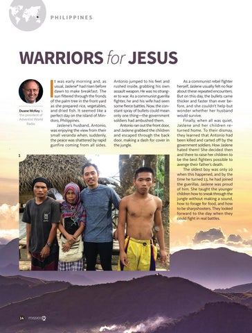 Page 14 of WARRIORS for JESUS