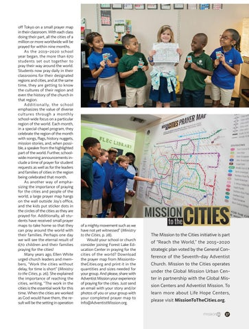 Page 17 of Elementary Students Pray Their Way Around the World