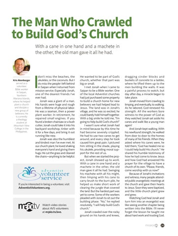 Page 25 of The Man Who Crawled to Build God's Church