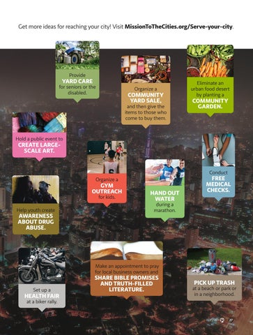 Page 27 of Low-Cost Ways to Serve Your City