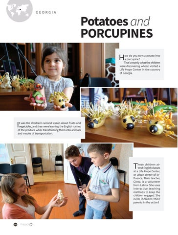 Page 30 of Potatoes and PORCUPINES