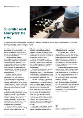 Page 4 of 3D-printed robot hand 'plays' the piano