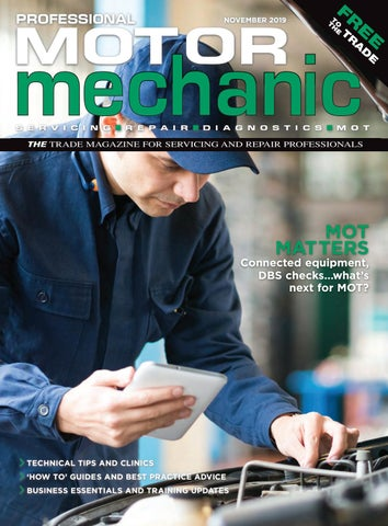 Professional Motor Mechanic November 19 by Hamerville Media