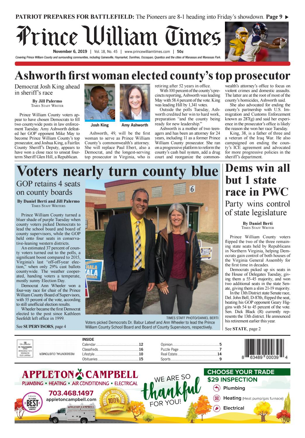 prince william times 11 06 2019 by fauquier times issuu prince william times 11 06 2019 by