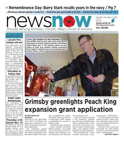 Newsnow E Edition November 7 2019 By Newsnow Niagara Issuu