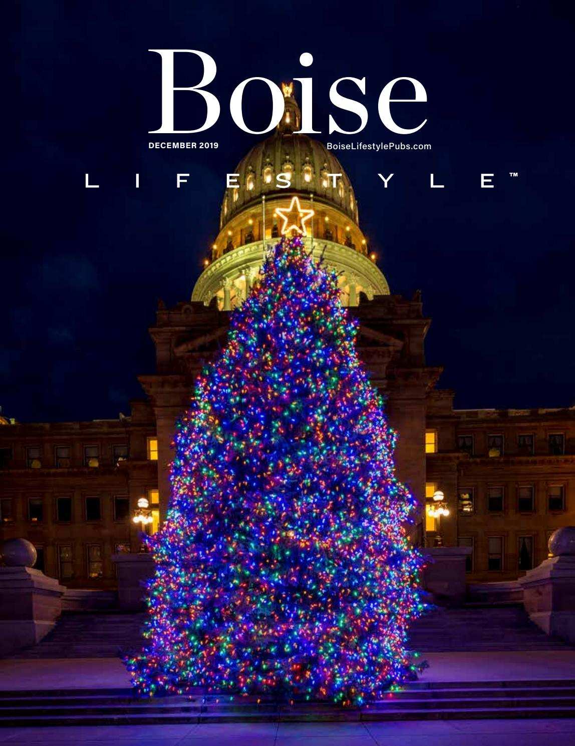 Christmas Trees At Dona Larsen Park 2020 Boise Boise, ID December 2019 by Lifestyle Publications   issuu
