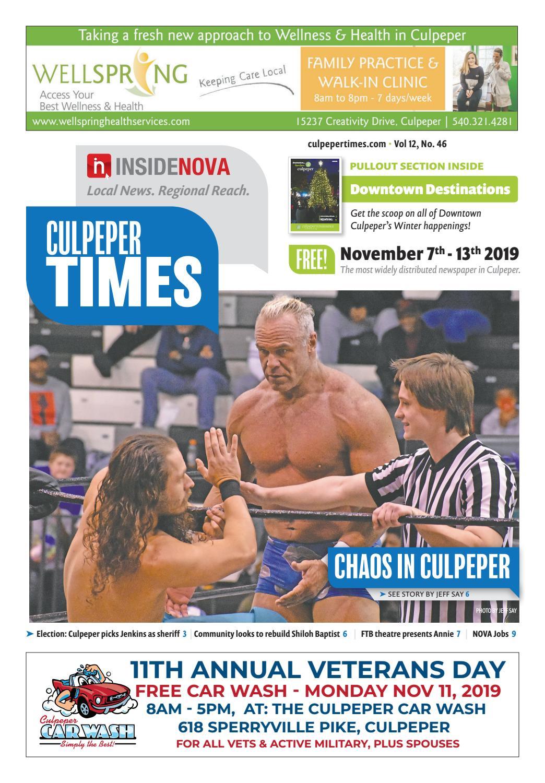 Culpeper Times | Nov. 7 13, 2019 by InsideNoVa issuu