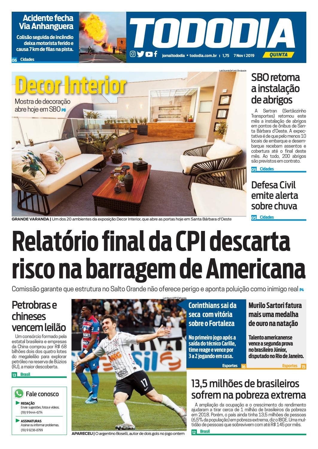 Jornal Tododia Edição 07 11 By Jornal Tododia Issuu