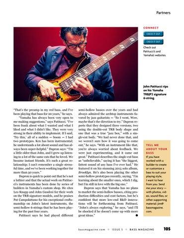 Page 105 of John Patitucci & Yamaha